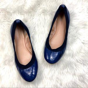 ❄️Banana Republic Cobalt Blue Patent Ballet Flats
